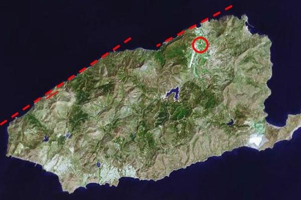 Gökçeada'da tsunami izleri