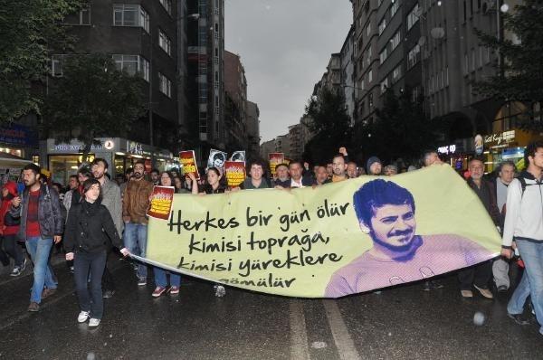 Eskişehir'de bin kişi Ali İsmail Korkmaz için yürüdü