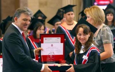 Atatürk Bilkent Üniversitesinde