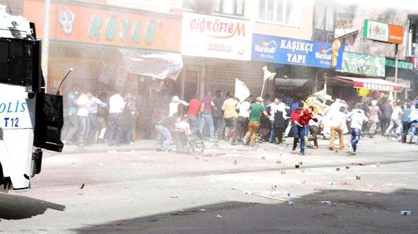 Bağcılar'da polis müdahalesi