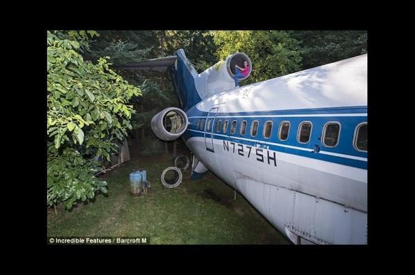 Onun evi, Boeing 727