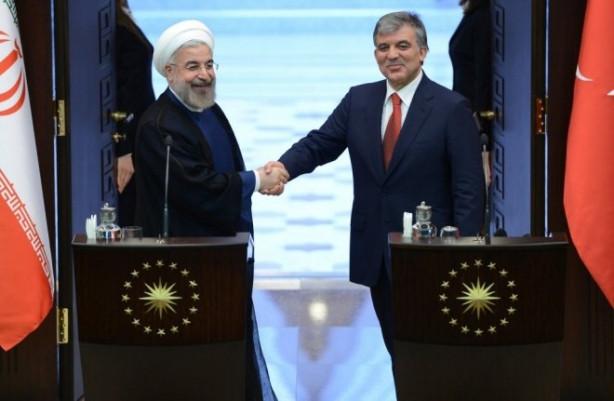 Cumhurbaşkanı Gül-Ruhani Ortak Basın Toplantısı