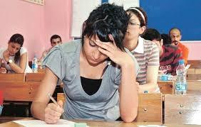 Matematik ve dil sınavı sona erdi