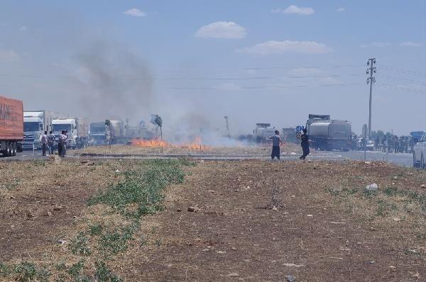 Yol kapatan protestoculara müdahale: 25 gözaltı
