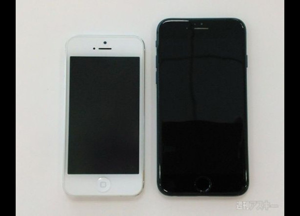 Siyah iPhone 6, One M8 ve iPhone 5S Yanyana!