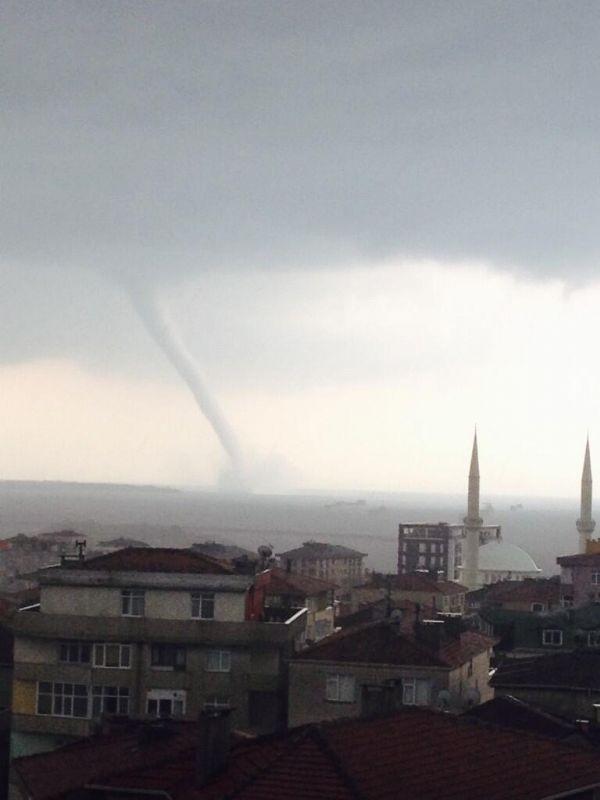 Marmara'da hortum paniği