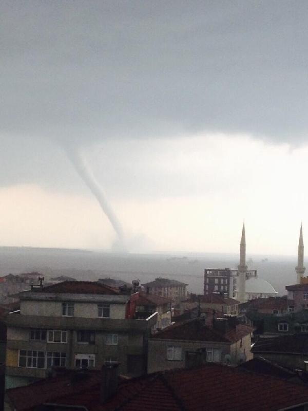 Marmara'da hortum