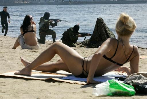 Sadece Rusya'da görebileceğiniz ilginç kareler