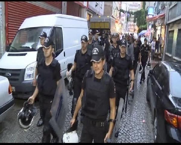 İstanbul'da hava destekli operasyon