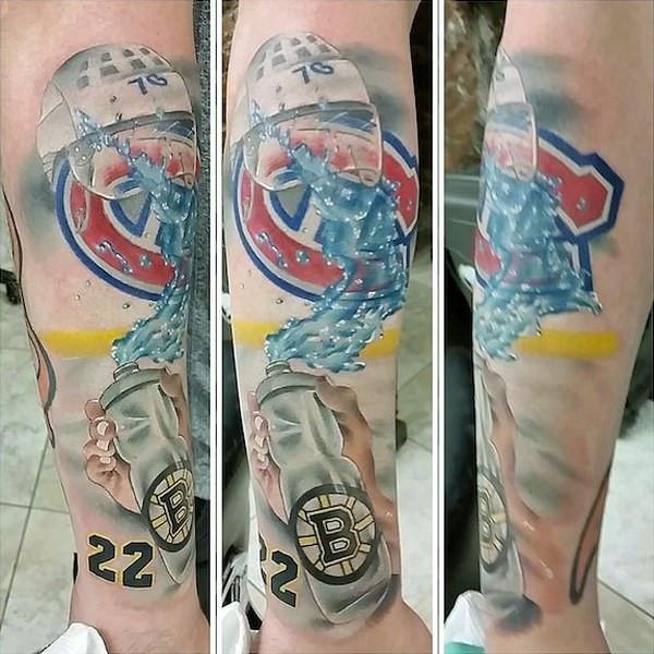 Çılgın taraftar dövmeleri