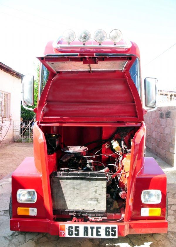 Bu da Murat 131 motorlu TIR