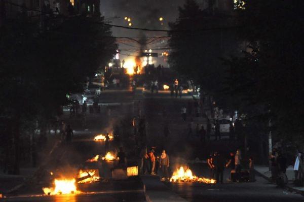 Gazi mahallesinde polis müdahalesi