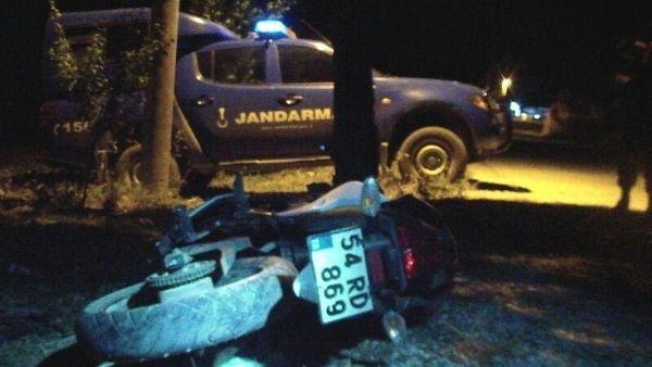Motosiklet kazasında 2 genç öldü