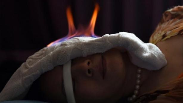 Çin'de 'Ateş terapisi'
