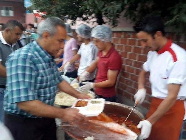 Erbaa'da 'İftar çadırından polislere yemek verilmedi' iddiası
