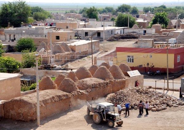 5 yılda Harran'daki kümbet evlerin yarısı yıkıldı