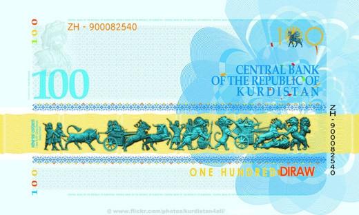 İşte Kürdistan'ın parası Kuro