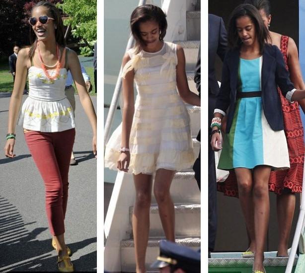 Obama'nın kızı fena yakalandı
