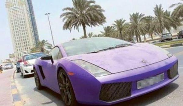 Dubai sokaklarında inanılmaz manzara!