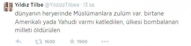 Yıldız Tilbe'nin ırkçı tweetlerine tepki yağdı