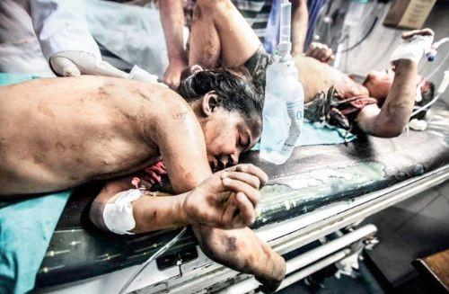 İsrail'den Gazze'ye yangın bombası