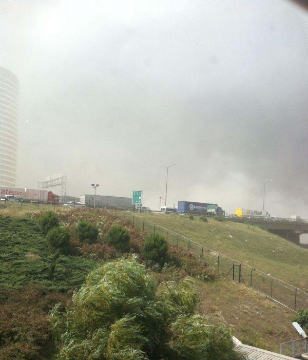 İstanbul toz duman
