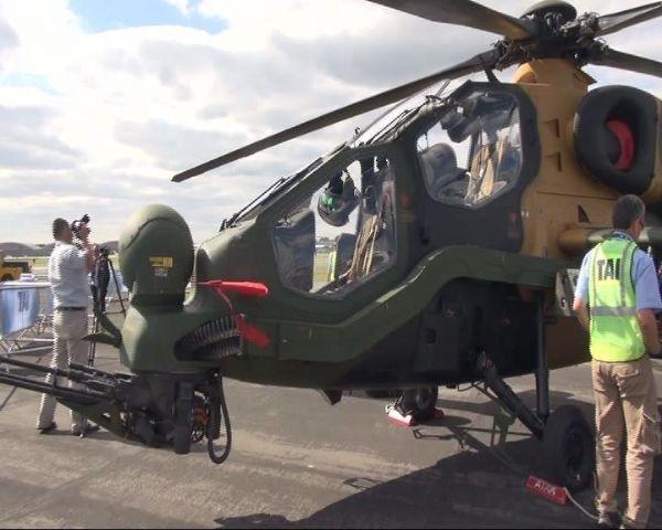 Türk helikopteri görücüye çıktı!