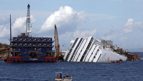 Costa Concordia gemisi faciasından görüntüler yayınlandı