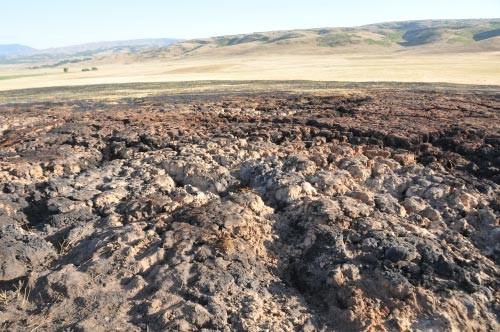 Toprak cayır cayır yanıyor