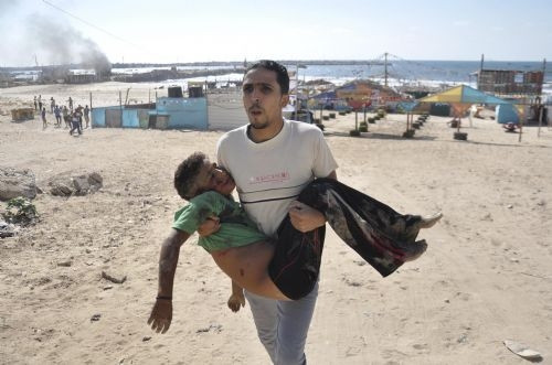 İsrail plajda oynayan çocukları katletti