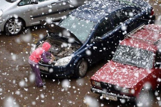 Temmuz ayında kar