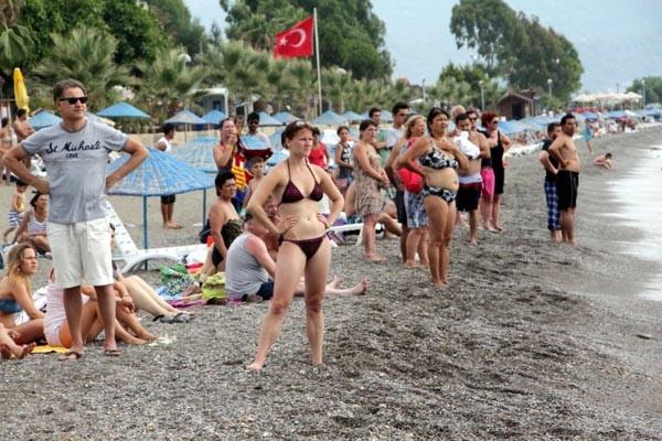 Çocuk boğuluyor sandılar, 'Caretta vakası' çıktı
