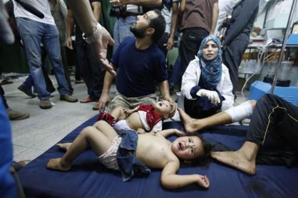İsrail BM okulunu vurdu