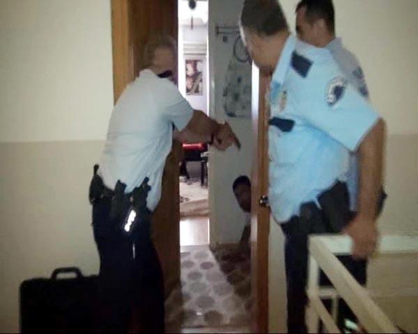Polis böyle kurtardı!