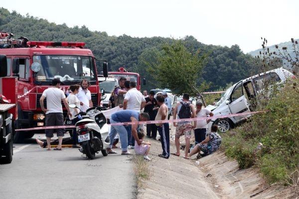 İstanbul'da bir kaza da Beykoz'da: 3 ölü, 8 yaralı