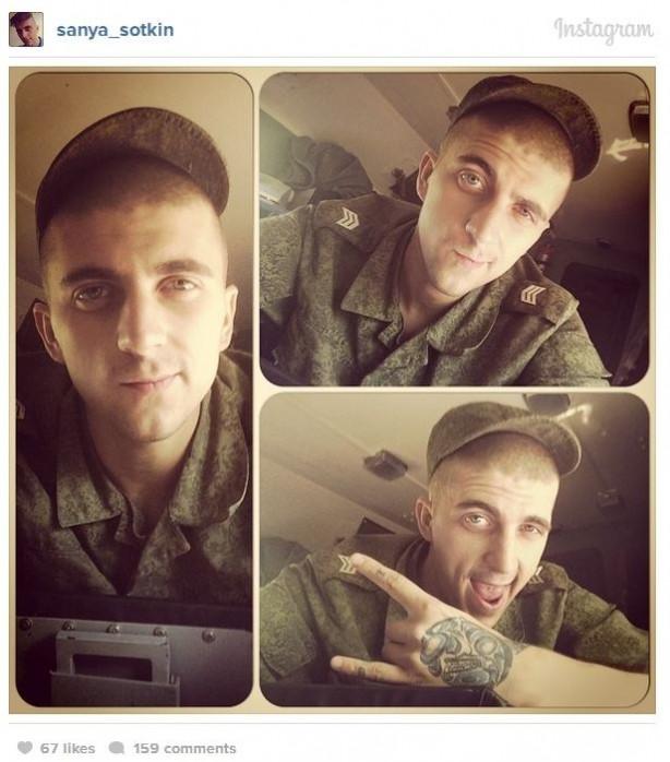 Bu selfie'ler Putin'in askerlerinin Ukrayna'ya sızdığının