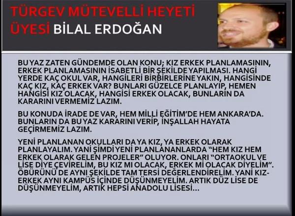 Bilal Erdoğan'ın ses kaydı