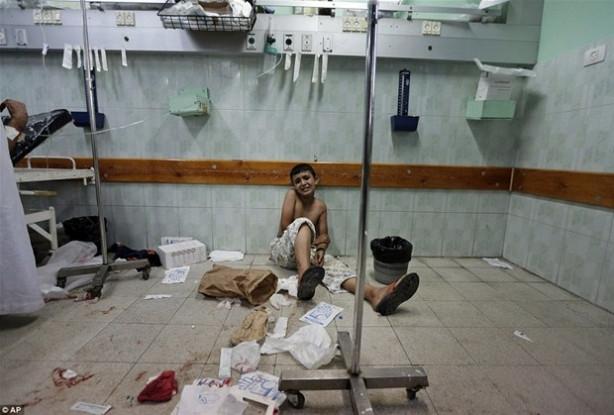 Gazze'de en çok çocuklar etkileniyor!