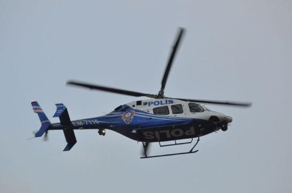 Helikopter destekli operasyon!