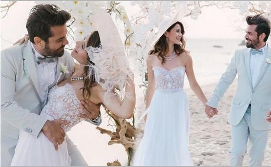 Düğünün kamera arkasında neler yaşandı