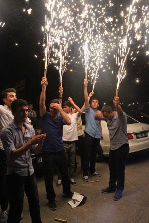 Böyle kutladılar