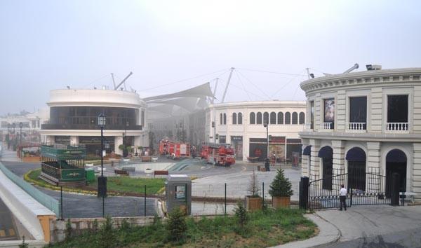 Vialand'da yangın çıktı
