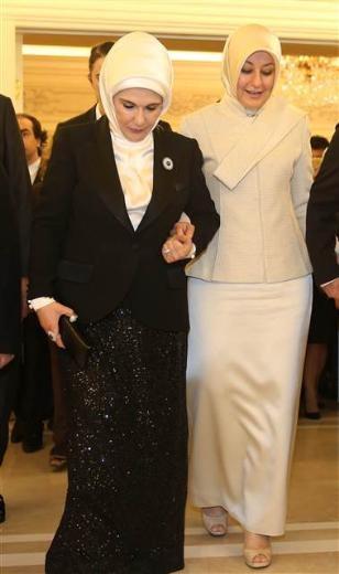 Cumhurbaşkanı Gül'den Köşk'te veda resepsiyonu