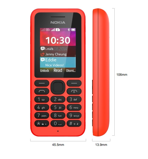 'Nokia 130' 25 dolara satılan yeni telefon