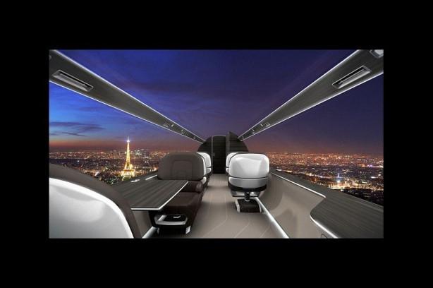 Penceresiz jette panoramik manzara keyfi yaşanacak