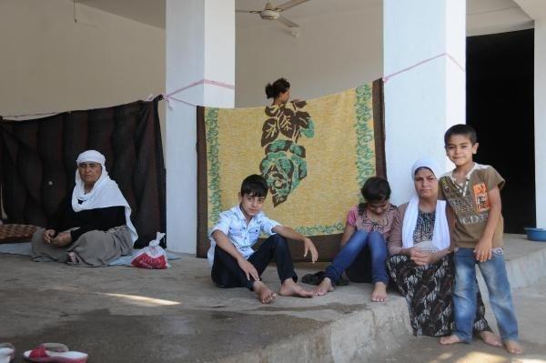 Ezidiler kutsal mekanları Laleş'e sığındı