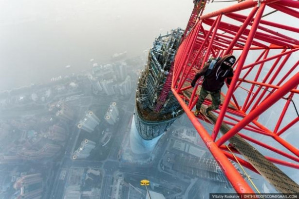 Yükseklik korkusu olan bakmasın