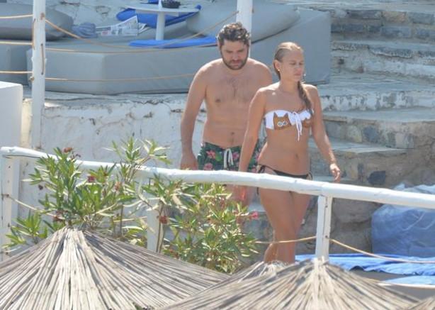 Ceyhun Fersoy Begüm Öner ile tatilde