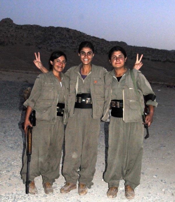 PKK, Saddam'ın karakollarına yerleşti