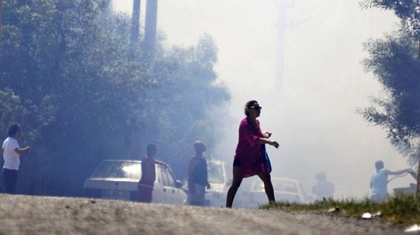 Bodrum'da korkutan yangın!